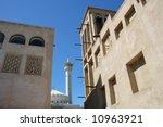 the old bastakiya district in... | Shutterstock . vector #10963921