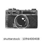 vector engraved style... | Shutterstock .eps vector #1096400408