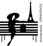 Stylish Graphic Silhouette Of ...