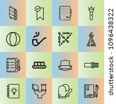 outline other 16 vector icons...
