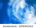 abstract modern vector... | Shutterstock .eps vector #1096441412