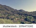 beautiful coastal landscape. | Shutterstock . vector #1096473182