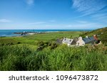 typical houses of normandy in...   Shutterstock . vector #1096473872