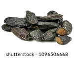 tonka beans isolated on white... | Shutterstock . vector #1096506668