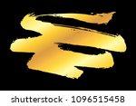 golden artistic grunge brush... | Shutterstock .eps vector #1096515458