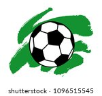 soccer  football ball and... | Shutterstock .eps vector #1096515545