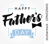 happy father s day vector... | Shutterstock .eps vector #1096520642