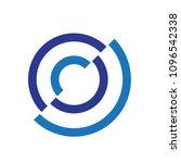 brilliant modern flat circle... | Shutterstock .eps vector #1096542338
