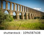 rural landscape with ancient... | Shutterstock . vector #1096587638