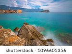 beautiful adriatic sea coast...   Shutterstock . vector #1096605356