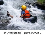 Man Floating Down A River...