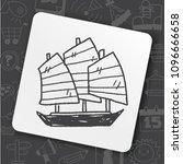 icon idea art bug face   Shutterstock .eps vector #1096666658
