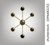 molecule sign illustration.... | Shutterstock .eps vector #1096682252