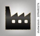 factory sign illustration.... | Shutterstock .eps vector #1096682276