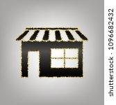 store sign illustration. vector.... | Shutterstock .eps vector #1096682432