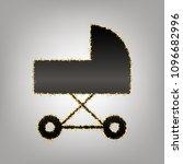 pram sign illustration. vector. ... | Shutterstock .eps vector #1096682996