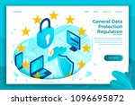 vector concept illustration   ... | Shutterstock .eps vector #1096695872