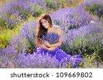 portrait of beautiful romantic... | Shutterstock . vector #109669802