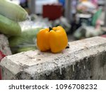 sweet chili at vegetable market ... | Shutterstock . vector #1096708232