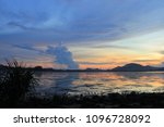 morning sea view colorful | Shutterstock . vector #1096728092