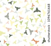 seamless vector pattern with... | Shutterstock .eps vector #1096761668