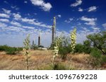 permian basin oil and gas... | Shutterstock . vector #1096769228