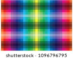 abstract vector rainbow mosaic... | Shutterstock .eps vector #1096796795