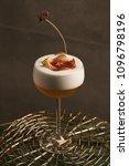 freshly vera cocktail on stand... | Shutterstock . vector #1096798196