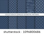 collection of seamless...   Shutterstock .eps vector #1096800686