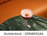 classical katana cocktail on... | Shutterstock . vector #1096804166