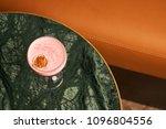 classical katana cocktail on... | Shutterstock . vector #1096804556