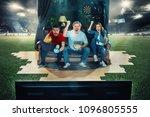 victory. win  winners. happy... | Shutterstock . vector #1096805555
