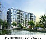 3d building   Shutterstock . vector #109681376