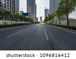 city road through modern... | Shutterstock . vector #1096816412