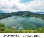 Scenery Of Crater Lake On The...