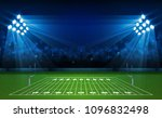 american football arena field... | Shutterstock .eps vector #1096832498