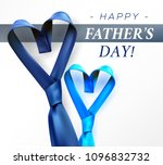 fathers day gift post greeting... | Shutterstock .eps vector #1096832732