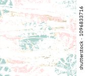 tropical worn floral pastel... | Shutterstock .eps vector #1096833716