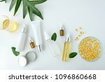 cosmetic nature skincare and...   Shutterstock . vector #1096860668