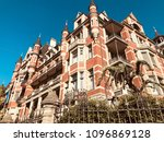 architecture and design in... | Shutterstock . vector #1096869128