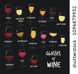 this is  types of wine. the...   Shutterstock .eps vector #1096879952