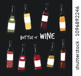 this is bottle of wine you can...   Shutterstock .eps vector #1096892246