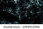 artificial neural network...   Shutterstock . vector #1096913546