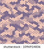 camouflage dotted seamless... | Shutterstock .eps vector #1096914836