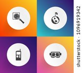 modern  simple vector icon set...   Shutterstock .eps vector #1096919342