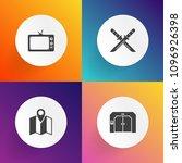 modern  simple vector icon set...   Shutterstock .eps vector #1096926398