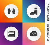modern  simple vector icon set... | Shutterstock .eps vector #1096928492