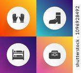 modern  simple vector icon set... | Shutterstock .eps vector #1096928492