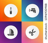 modern  simple vector icon set... | Shutterstock .eps vector #1096930988