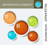 circle frame with dynamic... | Shutterstock .eps vector #1096935746